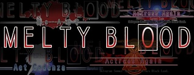 Click image for larger version.  Name:Melty_blood_logo1.jpg Views:350 Size:27.3 KB ID:12247