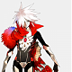 "Fate/Apocrypha's  'Lancer of Red'  Fate/Extra CCC's  'Launcher'    ""Son of the Sun God"" Karna"